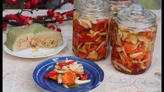 Cách làm dưa món giòn rụm, vị ngon không bị mặn, món ngon ngày tết || Natha Food