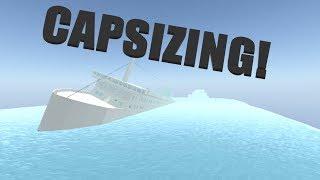 Capsizing! | Sinking Ship | Roblox