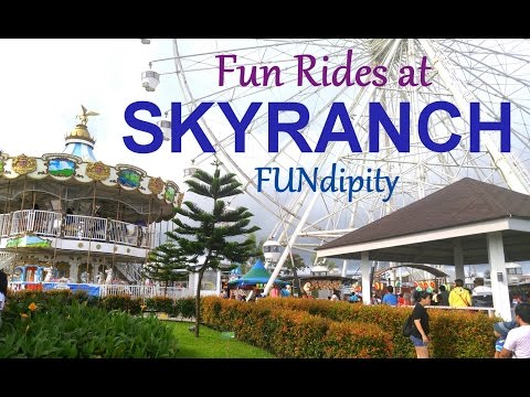 Sky Ranch Tagaytay Fun Family Playtime Outdoor Amusement Park with lots of Kiddie Rides