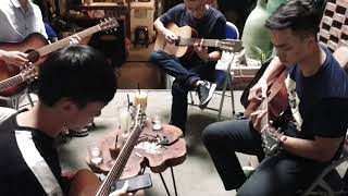 Hướng Dẫn Guitar Hong Kong 1 - Tùng acoustic class 122 ô chợ dừa | HUB caffe