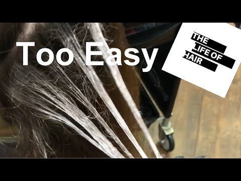 balayage-technique---ribbon-weave---(very-easy-hair)
