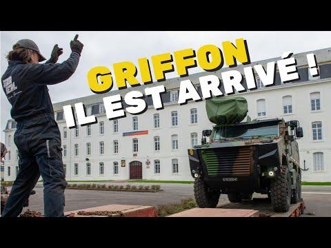 Livraison du Griffon au 3e RIMa