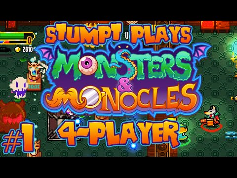 Monsters and Monocles - #1 - Tea Party (4-player Co-op Gameplay)