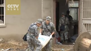 East China tornado: Emergency responders in place for recovery operation