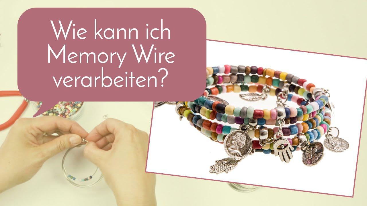 Schmuck machen mit Perlenladen Online - Memory Wire - YouTube
