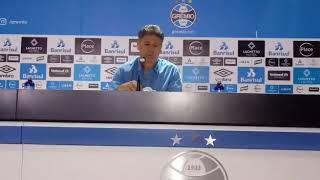 Coletiva Renato Gaúcho / Grêmio 2x0 Paraná 15/09