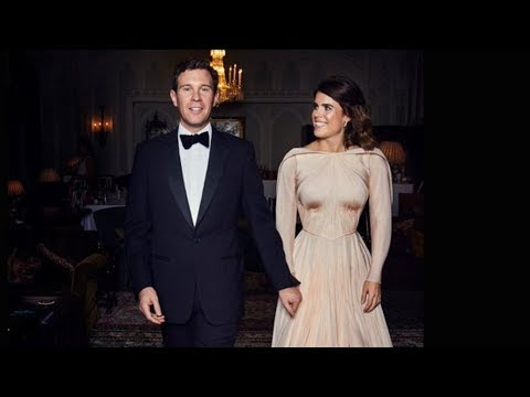 How Princess Eugenie's Reception Dress Broke Royal Protocol