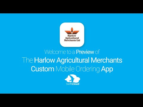 Harlow Agricultural Merchants - Mobile App Preview - HAR770W