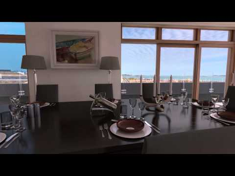 Royal Terrace Penthouse, Guernsey: 360 animation
