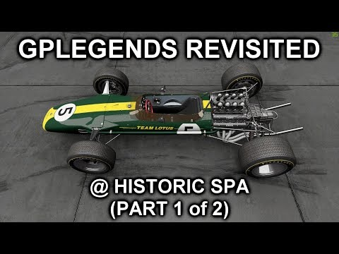 Project Cars 2 - GPLegends Revisited Part 1 of 2 - The Lotus 49 at Historic (Classic 67?) SPA |