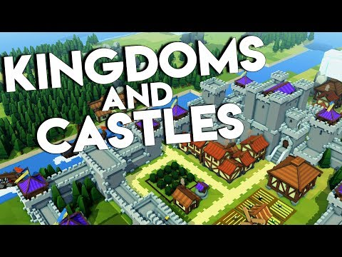 WHY IS THERE A DRAGON?? | Kingdoms and Castles Gameplay #1