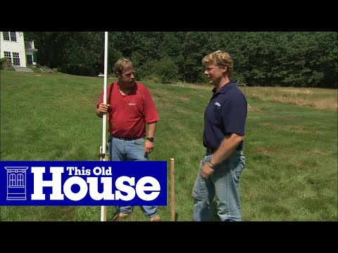 How to Establish a Level Grade Line for Landscaping - This Old House