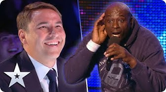 "Unforgettable Audition: Mr Zip belts out ""Where's me keys? Where's me phone?"" | Britain's Got Talent"
