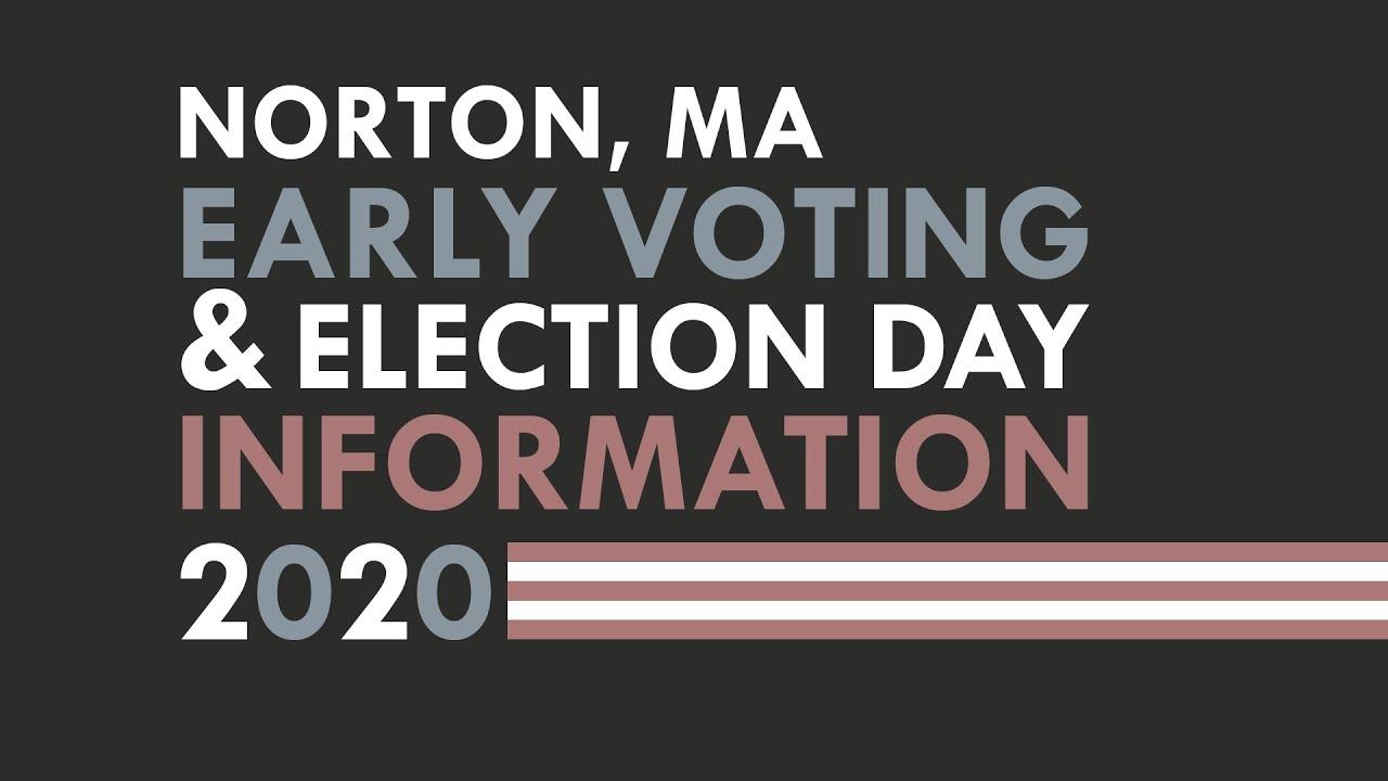 Norton Voting Info 2020