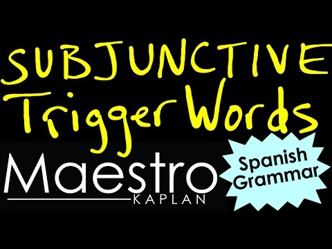 Can someone suggest some Spanish subjunctive phrases?