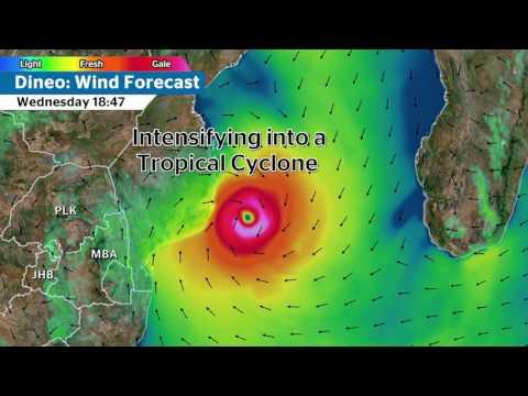 Dineo Wind Forecast