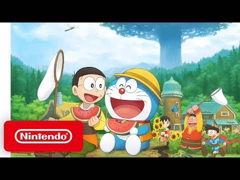Doraemon: Story of Seasons  Launch Trailer  Nintendo Switch