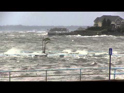 Hurricane Sandy - off New Rochelle Rowing Club