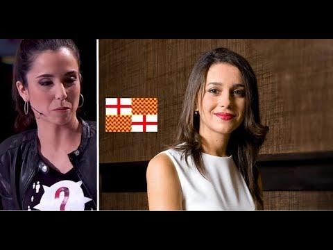 La Guerra al Castellano en Cataluña: Arrimadas *DESARMA* a Periodista Sectaria.-