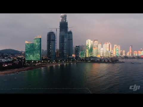 Qingdao light show 青岛灯光秀