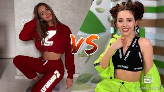 Iuliana Beregoi VS Bibi TikTok Battle