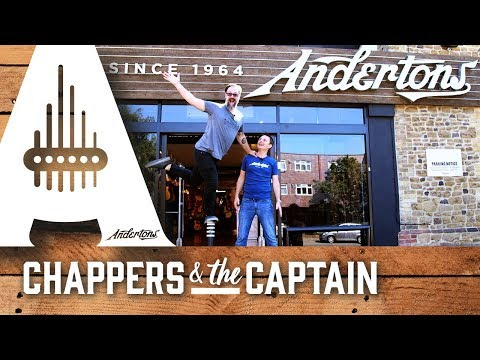 Take a tour of Andertons Music Co. with Chappers and the Captain.