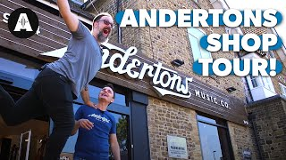 Andertons Music Co. - Take a tour with Chappers and the Captain.