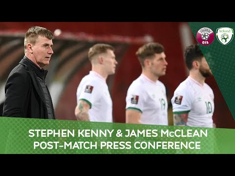 POST-MATCH PRESS CONFERENCE | Stephen Kenny & James McClean