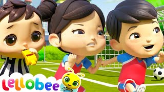 Let's Play Soccer | Brand New | Nursery Rhymes & Kids Songs | ABCs and 123s | Little Baby Bum