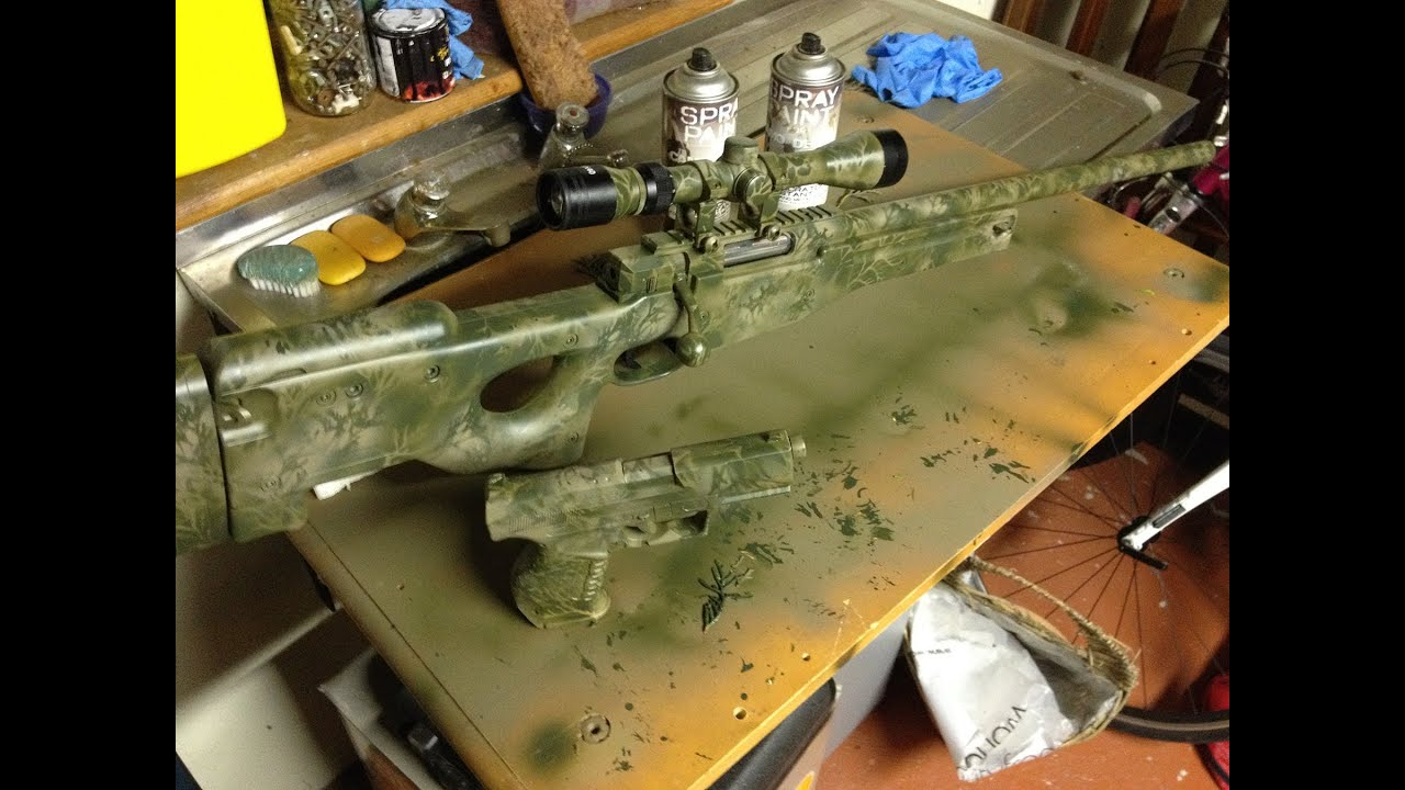 Where To Get Airsoft Custom Paint Jobs