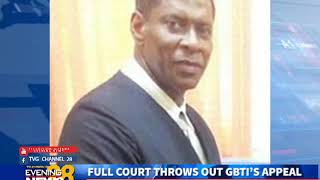 FULL COURT THROWS OUT GBTI'S APPEAL … BANK ORDERED TO HAND OVER DOCS TO SOCU BY NOV 12-13/10/2018