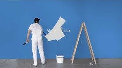 House painter and decorator video logo animation advertisement/commercial