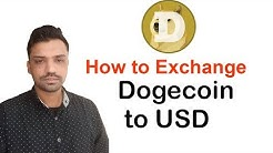 How to exchange dogecoin to USD - Urdu/Hindi