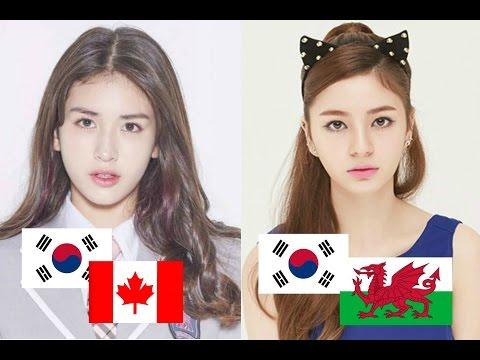 Mixed Korean Female Idols