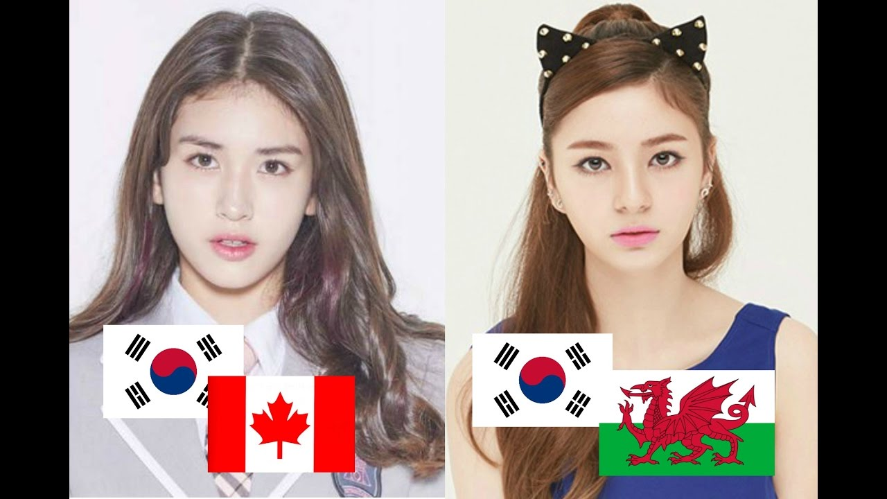 Mixed Korean Female Idols Youtube