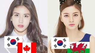 Mixed Korean Female Idols