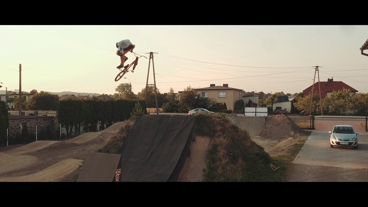 Pumped BMX in Real Life! Dawid Godziek - Double Backflip and Body Varial in  Line ( BMX , DIRT )