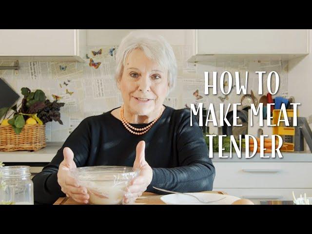 How to Make Meat Tender - Mamma Giuliana
