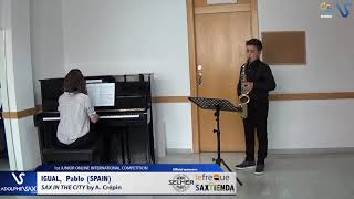 Pablo Igual – Sax in the City by Alain Crepin