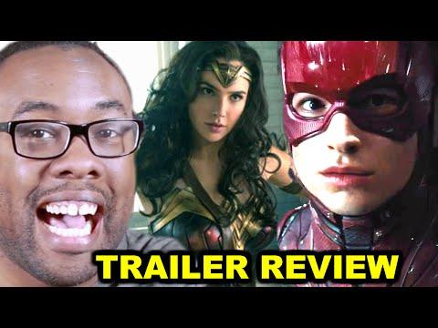 WONDER WOMAN & JUSTICE LEAGUE Comic-Con Trailer Review