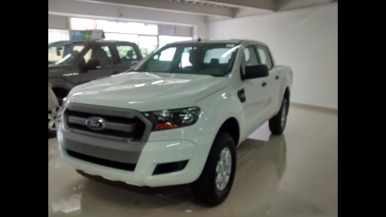 nueva ford ranger xls doblecabina 3 2 diesel 4x4 mt 2017 galeria plata y blanco youtube. Black Bedroom Furniture Sets. Home Design Ideas
