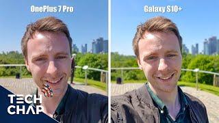 OnePlus 7 Pro vs Galaxy S10+ Camera Comparison! | The  Tech Chap