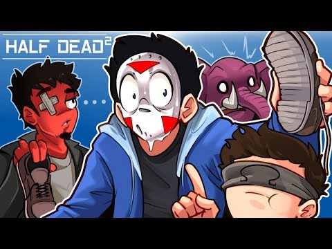 THE TRAP MAZE IS BACK - Half Dead 2 (With Toonz, Ohm & Gorilla)