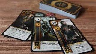 The Witcher 3 Wild Hunt . Игра в гвинт + БОНУС!! Секретная карта!