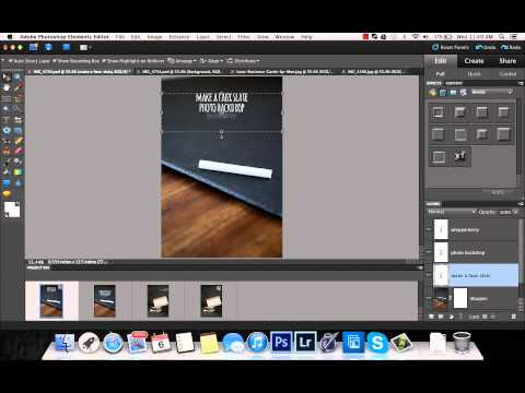 How to add text to a picture in photoshop elements
