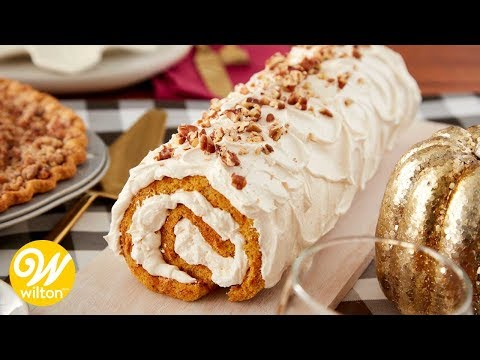 How to Make a Pumpkin Roll Cake | Wilton