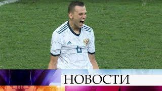 Россия обыграла Испанию и вышла в четвертьфинал чемпионата мира.