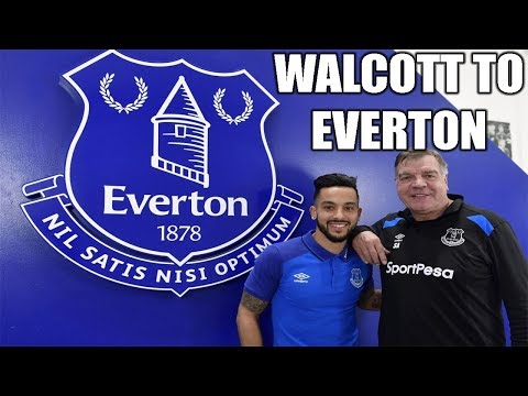 THEO WALCOTT SIGNS FOR EVERTON! SHIRT NUMBER 11!
