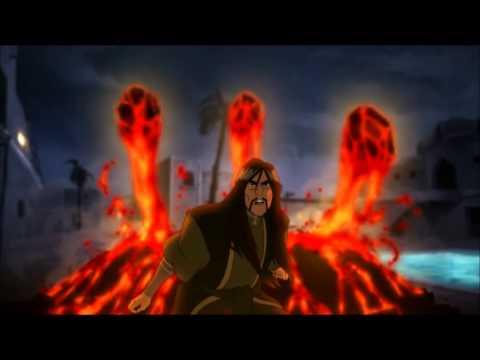 Legend of Korra: Red Lotus Tribute