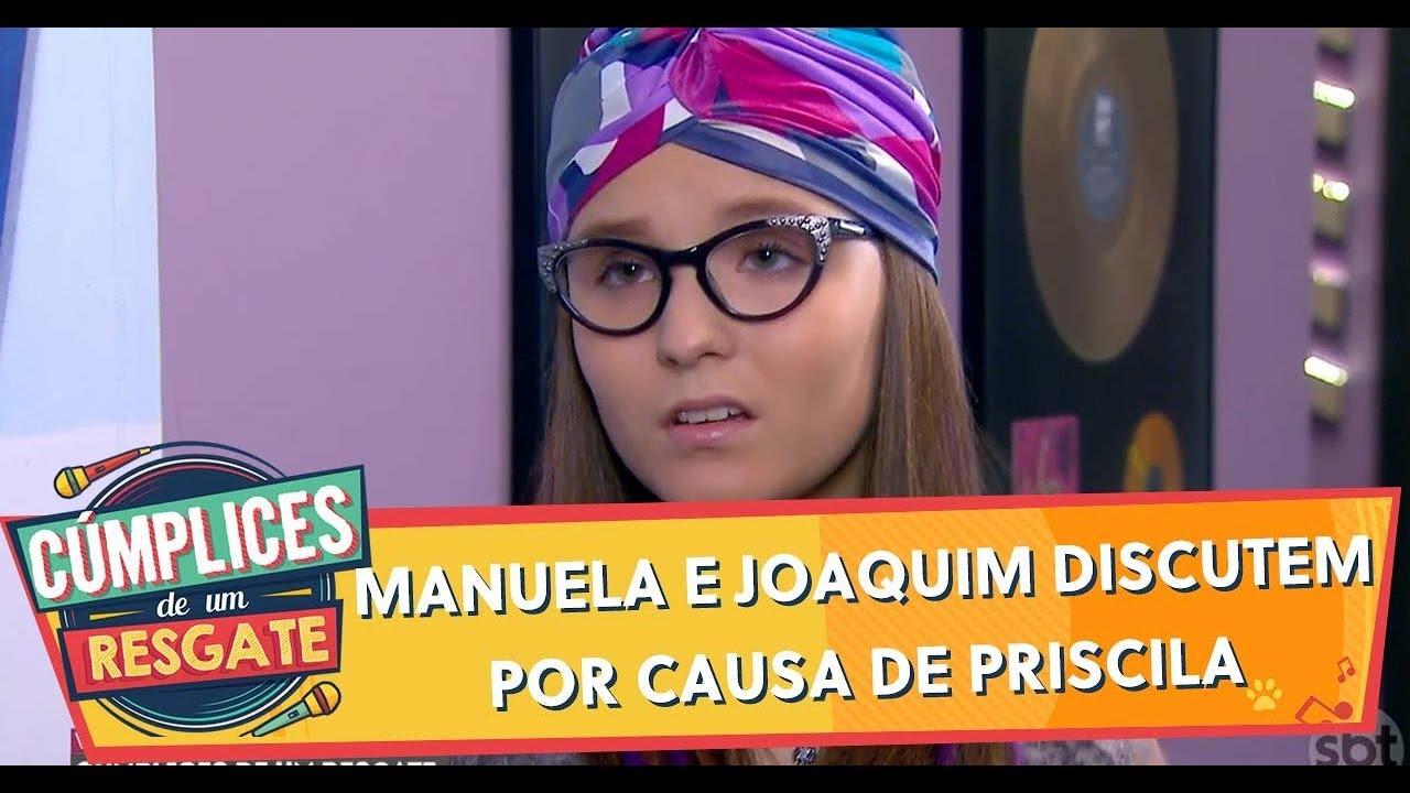 Manuela e Joaquim discutem por causa de Priscila | Cúmplices de Um Resgate (15/01/20)